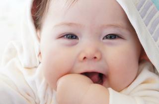 赤ちゃん写真撮影